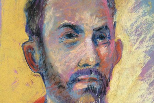 Alan pastel painting