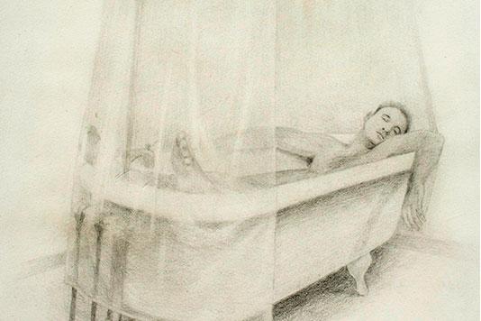 Bath graphite