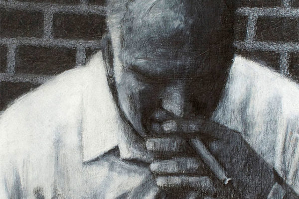Father with cigar 2 graphite