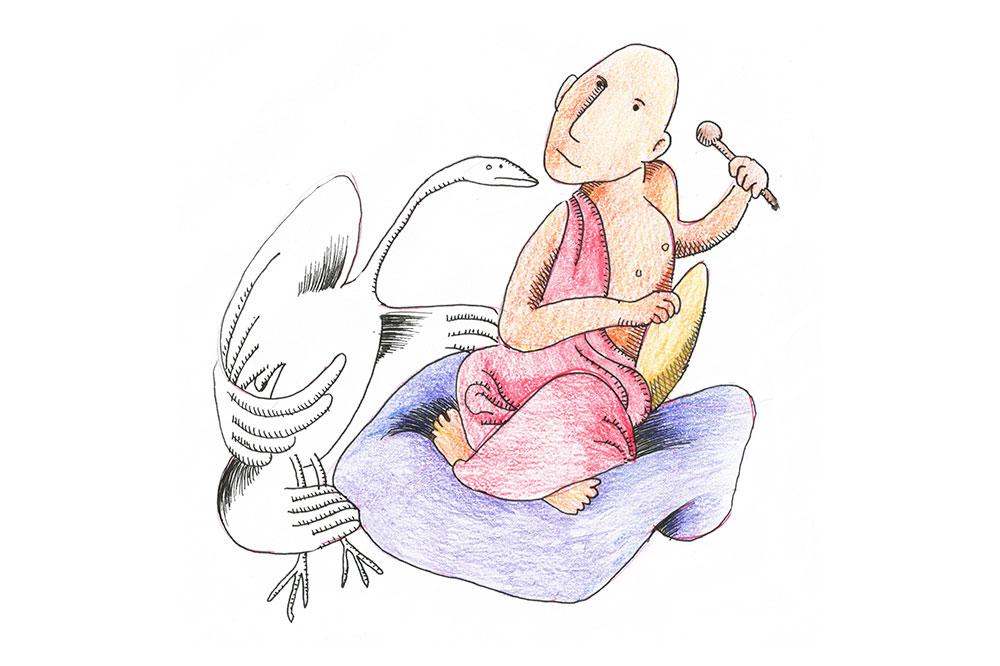 swan gong